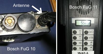 Bosch FuG10 und 11